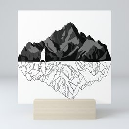 Mountains Bear Mini Art Print