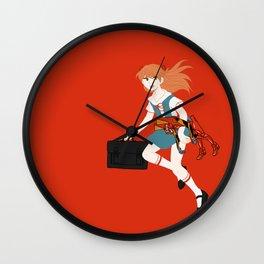 02 Asuka Langley Soryu Wall Clock