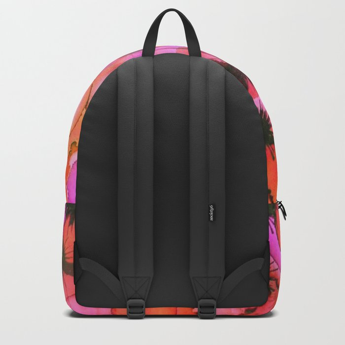 Palm Trees on Sunset Stains Backpack