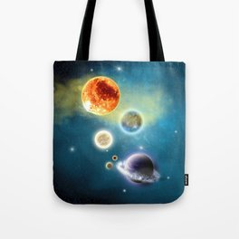 New Solar System Tote Bag