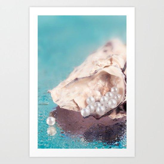 FRESH SHELLS Art Print