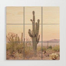 Arizona Desert Wood Wall Art