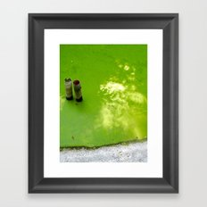 Slime & Light Framed Art Print