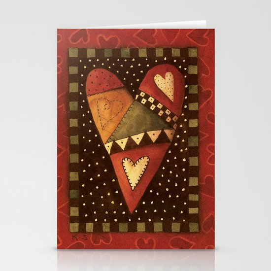 Crazy For Love Stationery Cards