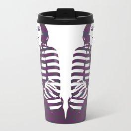 Miranda Kerr Stripes Metal Travel Mug