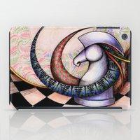 chess iPad Cases featuring Chess by Solomiya Shevchuk