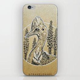 Cassowary Love iPhone Skin