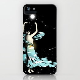 Dance Into The Moonlight iPhone Case