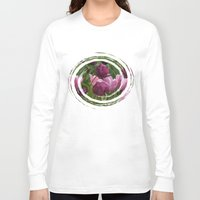 burgundy Long Sleeve T-shirts featuring Shades of Burgundy by Irina Wardas