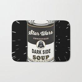 Black Soup Bath Mat