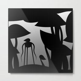 The mysterious forest Metal Print
