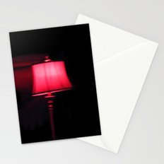 Red Lamp Stationery Cards