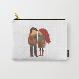 Two Peas In A Pod Carry-All Pouch