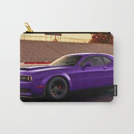 Plum Crazy Purple Widebody Challenger Hellcat Demon Carry-All Pouch