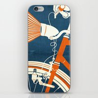 bicycle iPhone & iPod Skins featuring Bicycle Light by Fernando Vieira