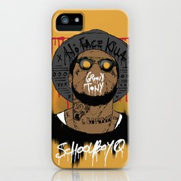 Schoolboy Q iPhone Case