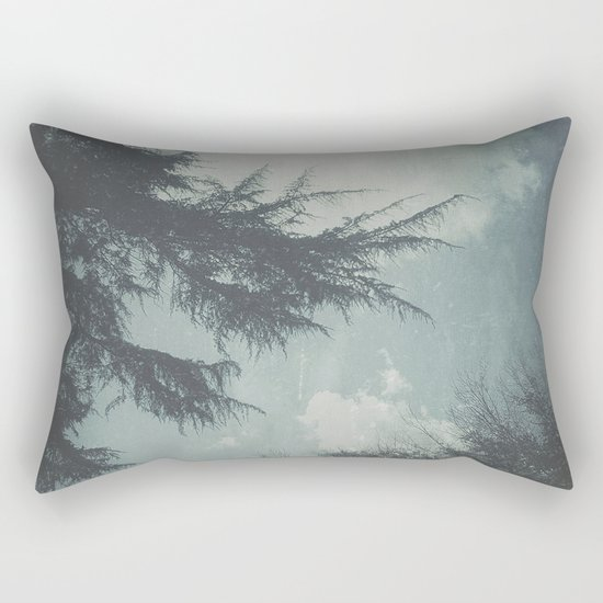 On Cool Days Rectangular Pillow