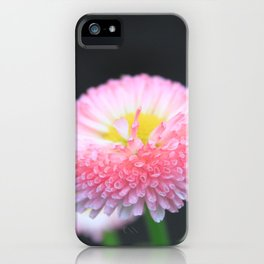 Kayla's Pink Flower iPhone Case