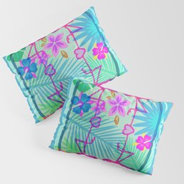 Flamingo Dance Pillow Sham
