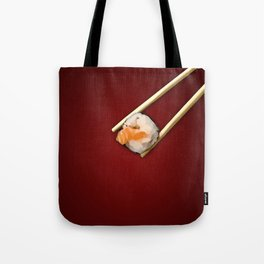 Sushi in red Tote Bag