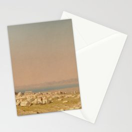 Sanford Robinson Gifford Ruins of the Parthenon 1880 Painting Stationery Cards