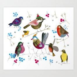 birds2 Art Print