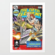Bargain Bin: The 5th Element Art Print