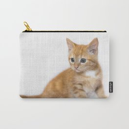 Ginger Kitten Carry-All Pouch
