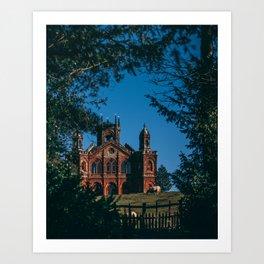 Church in Stowe Art Print