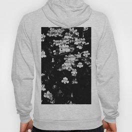 Trumpet Flowers (Black & White) Hoody
