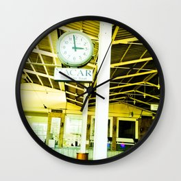 Weather going fast. Wall Clock