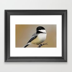Chickadee-dee-dee Framed Art Print