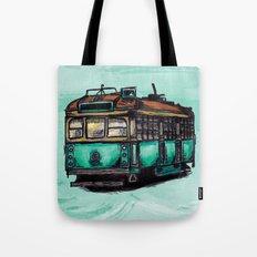 Melbourne Tram Tote Bag