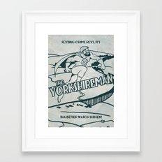 The Yorkshireman Framed Art Print