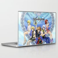 kingdom hearts Laptop & iPad Skins featuring Kingdom Hearts by clayscence