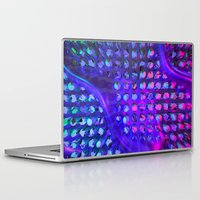 chuck Laptop & iPad Skins featuring Chuck by Rabassa