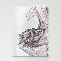 smaug Stationery Cards featuring Smaug by jamestomgray