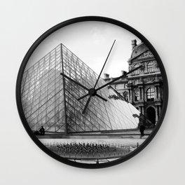 Pyramide de Louvre Wall Clock