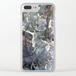 Metamorphosis Female Clear iPhone Case