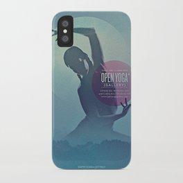 Open Yoga Gallery iPhone Case