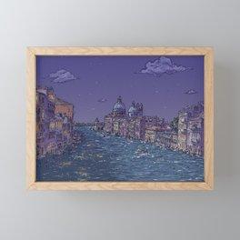 Travel Venice Italy Wanderlust Framed Mini Art Print