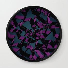 3D Mosaic BG V Wall Clock