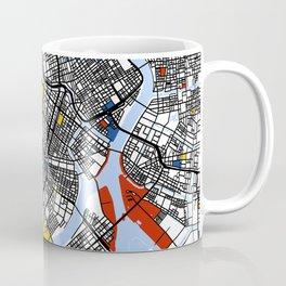 Tokyo Mondrian Coffee Mug