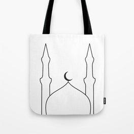Masjid x Black Tote Bag