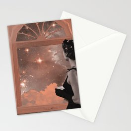 dreaming in pink Stationery Cards