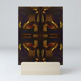 golden signs Mini Art Print