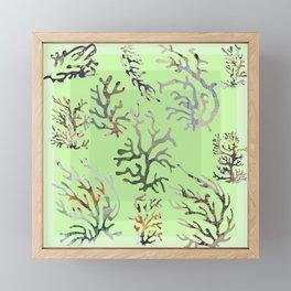 abstract sea Framed Mini Art Print
