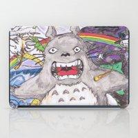 hayao miyazaki iPad Cases featuring Miyazaki Mash-Up by Loveless D. Grim