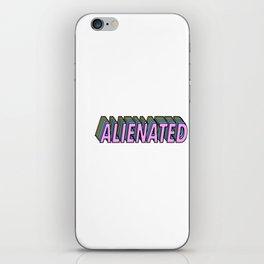 Alienated iPhone Skin
