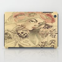 mucha iPad Cases featuring mucha cholo by paolo de jesus
